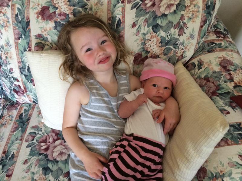 Aya's new baby sister