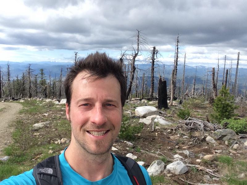 Summiting Mt. Okanagan