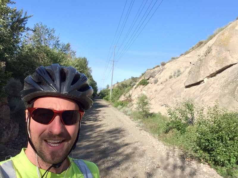 Biking the recently retired railway
