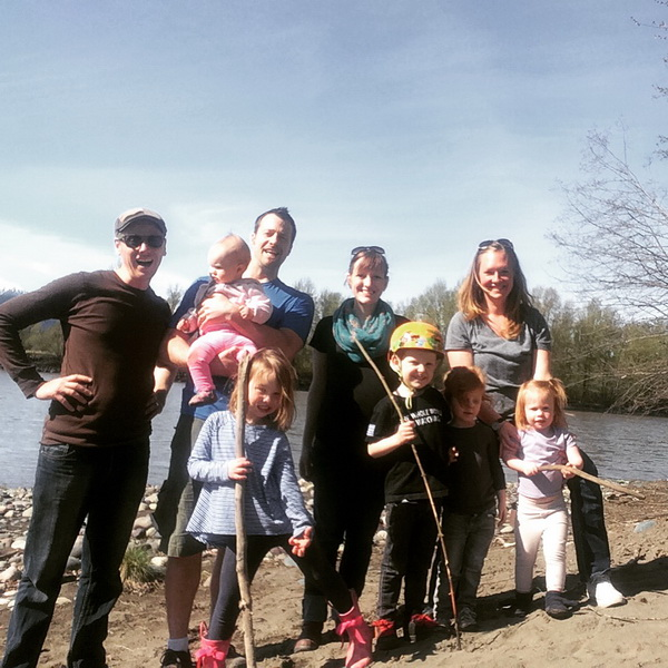 Lakelse Lake with the Talstras