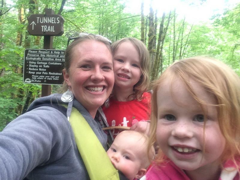 Hiking at Bridal Falls