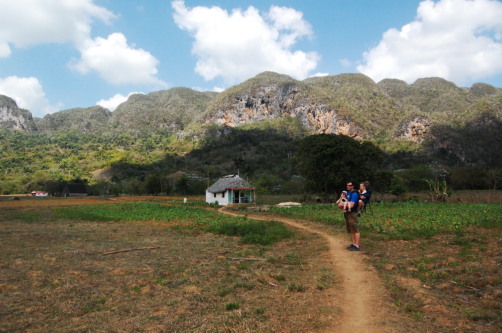 Hiking near Vinales