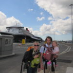 Boarding the Queen Mary 2 Cunard