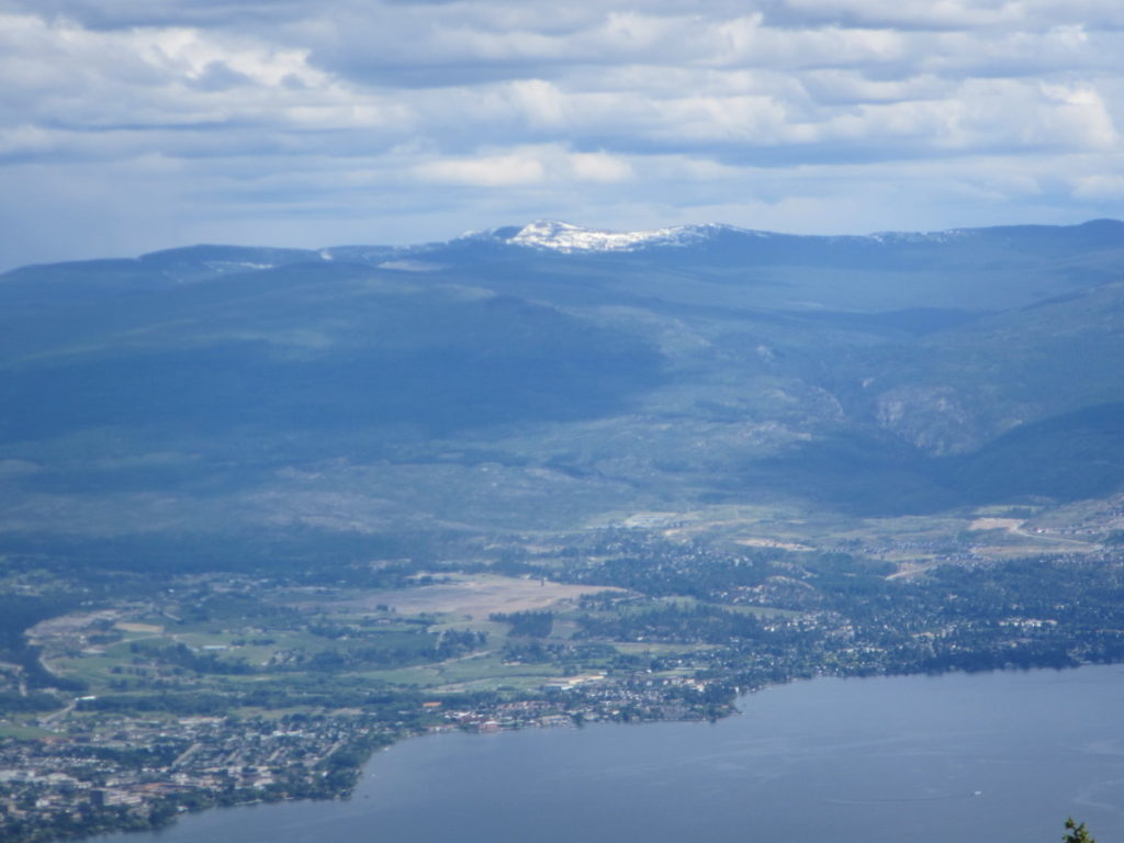 View of Little White from Hayman Mountain