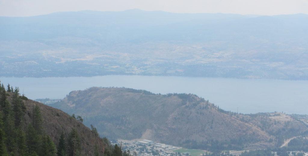 View of Mt. Boucherie from Carrot Bluffs