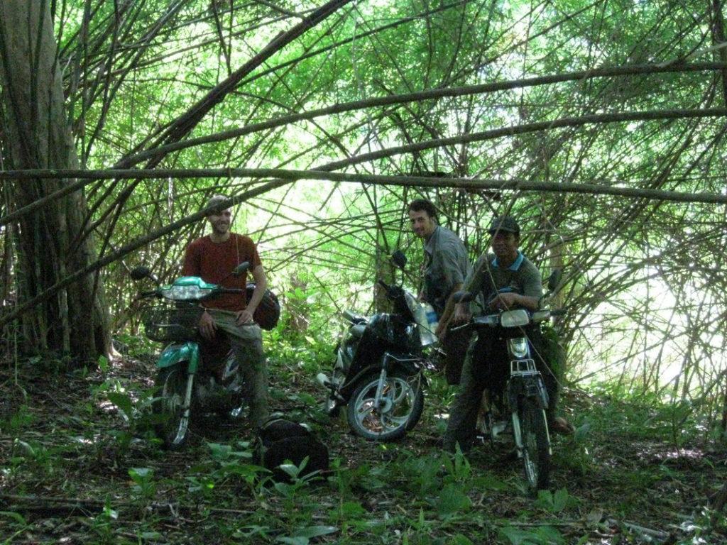 As far as the motos will take us