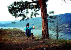 Swinging up in Glenmore Highlands