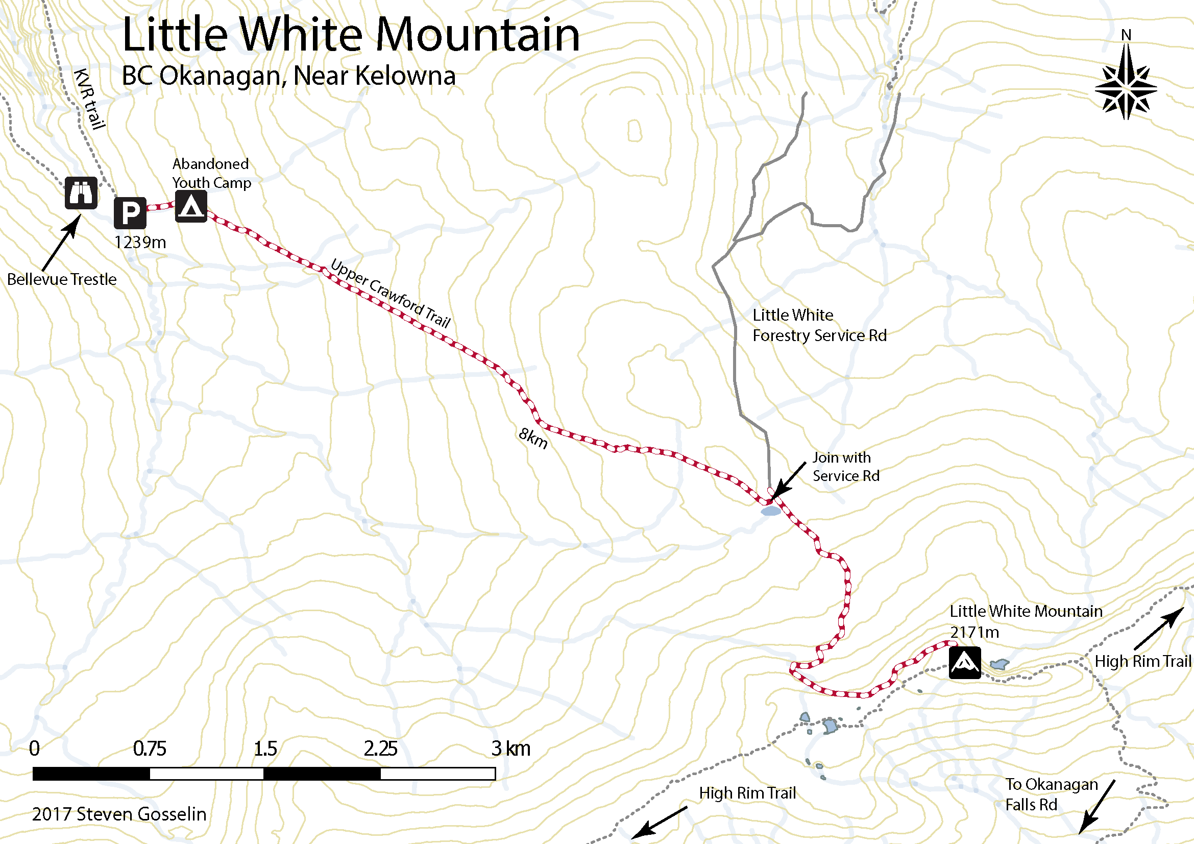 Little White Mountain – Upper Crawford Trail – Life is Adventure