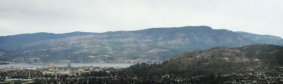 Mount Hayman from Kelowna