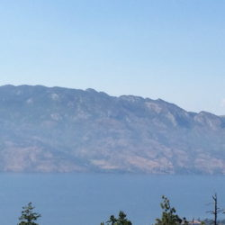 Okanagan Mountain (from Mt. Boucherie)