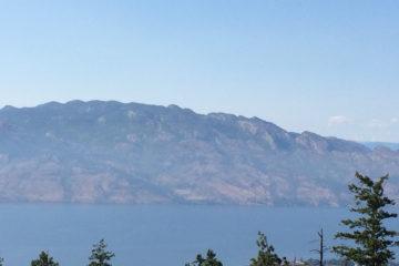 Okanagan Mountain (from Mt. Boucherie)