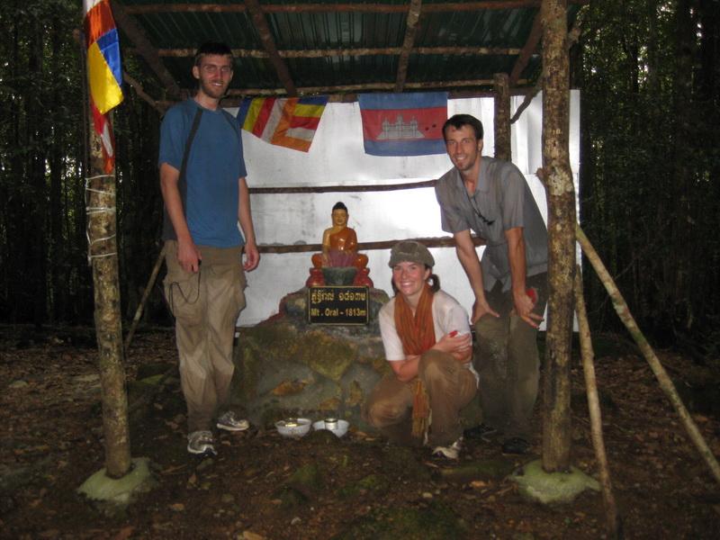 Summit of Phnom Aoral