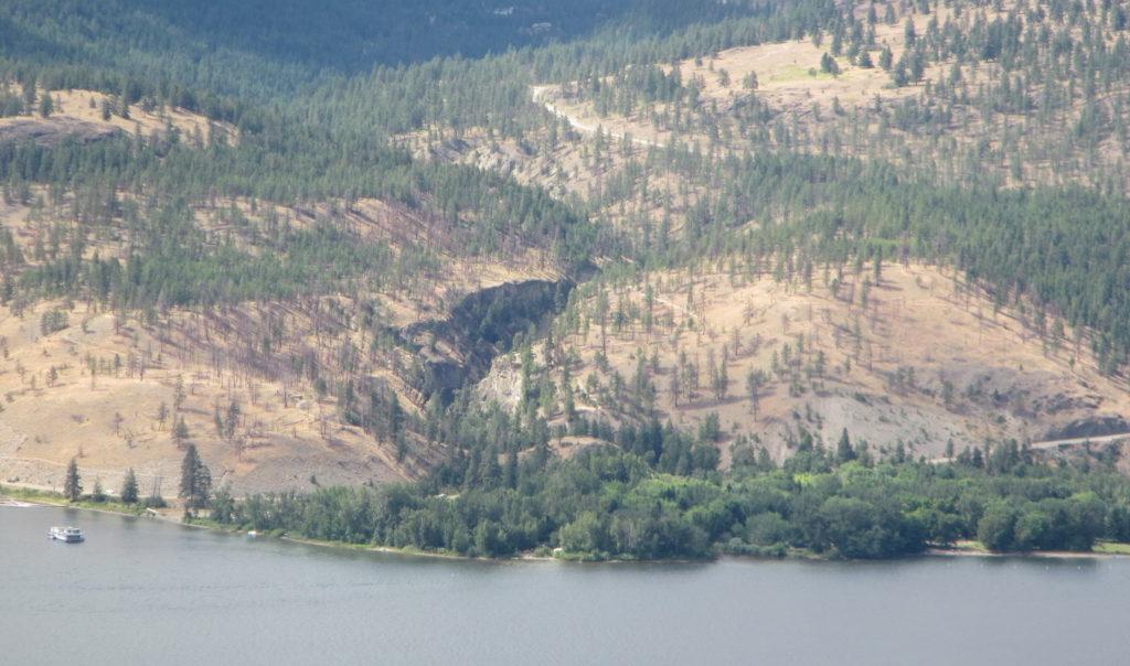 Bear Creek seen from Glenmore Highlands