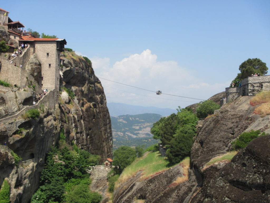 Feats of ancient engineering in Meteora