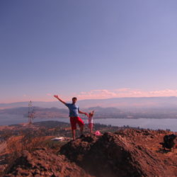 10 trails to hike with kids in the okanagan
