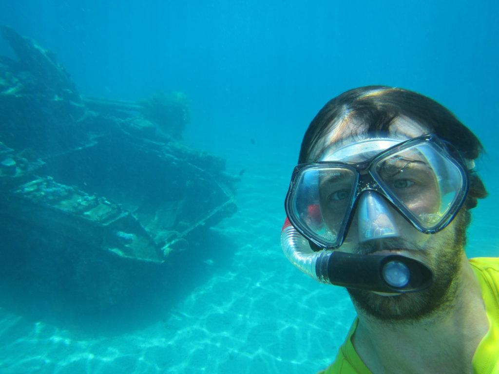 Snorkeling in Aqaba