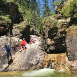 Ashton Creek - Enderby Natural Waterslides